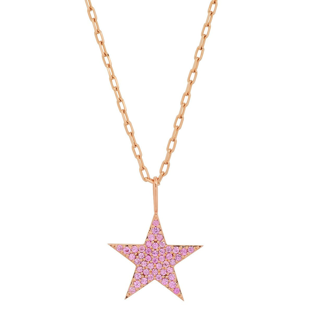 Copy of The Ashleigh Bergman Collective x Walters Faith Pink Sapphire Star Charm