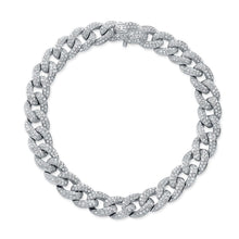 Pave Diamond Small Link Bracelet