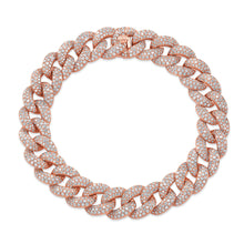Pave Diamond Large Link Bracelet