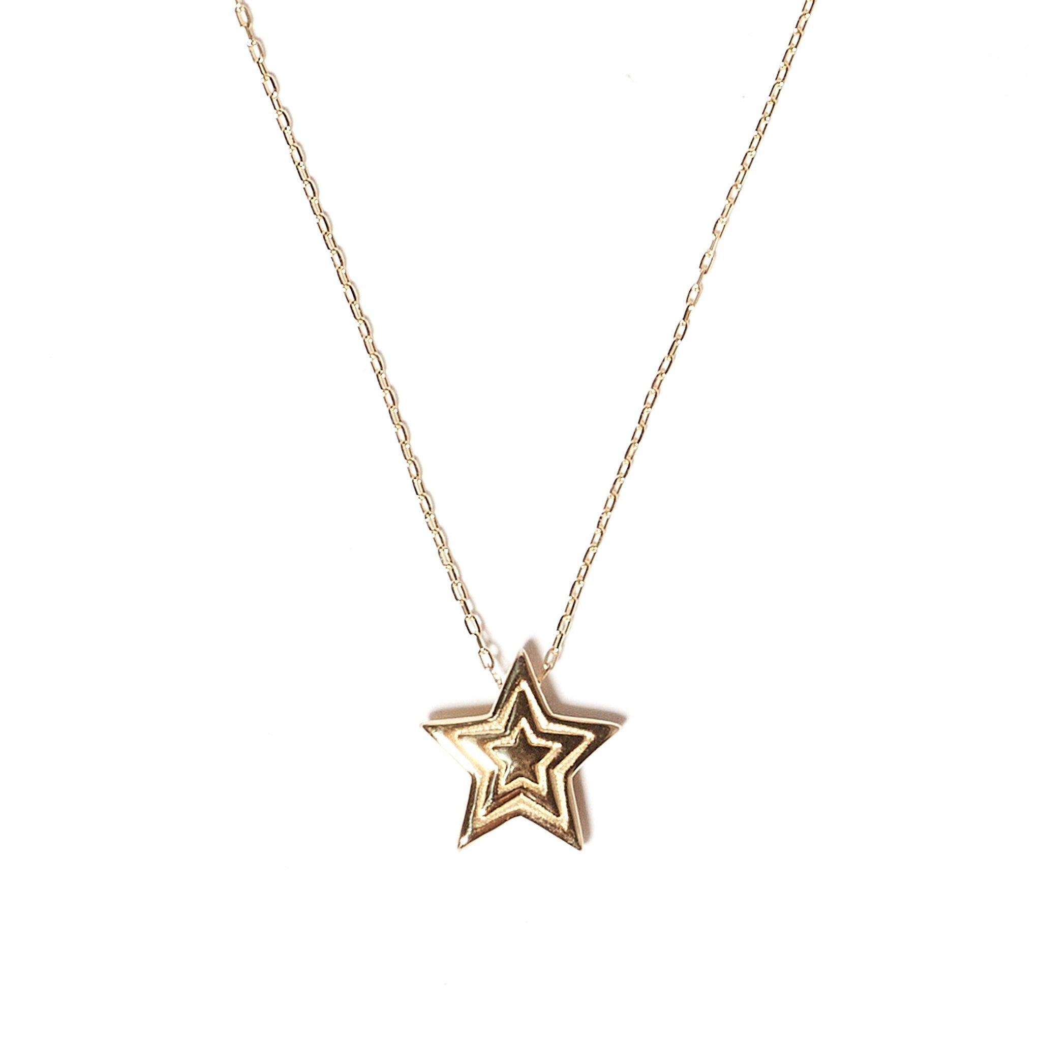 Mini JuJu Star Charm Necklace