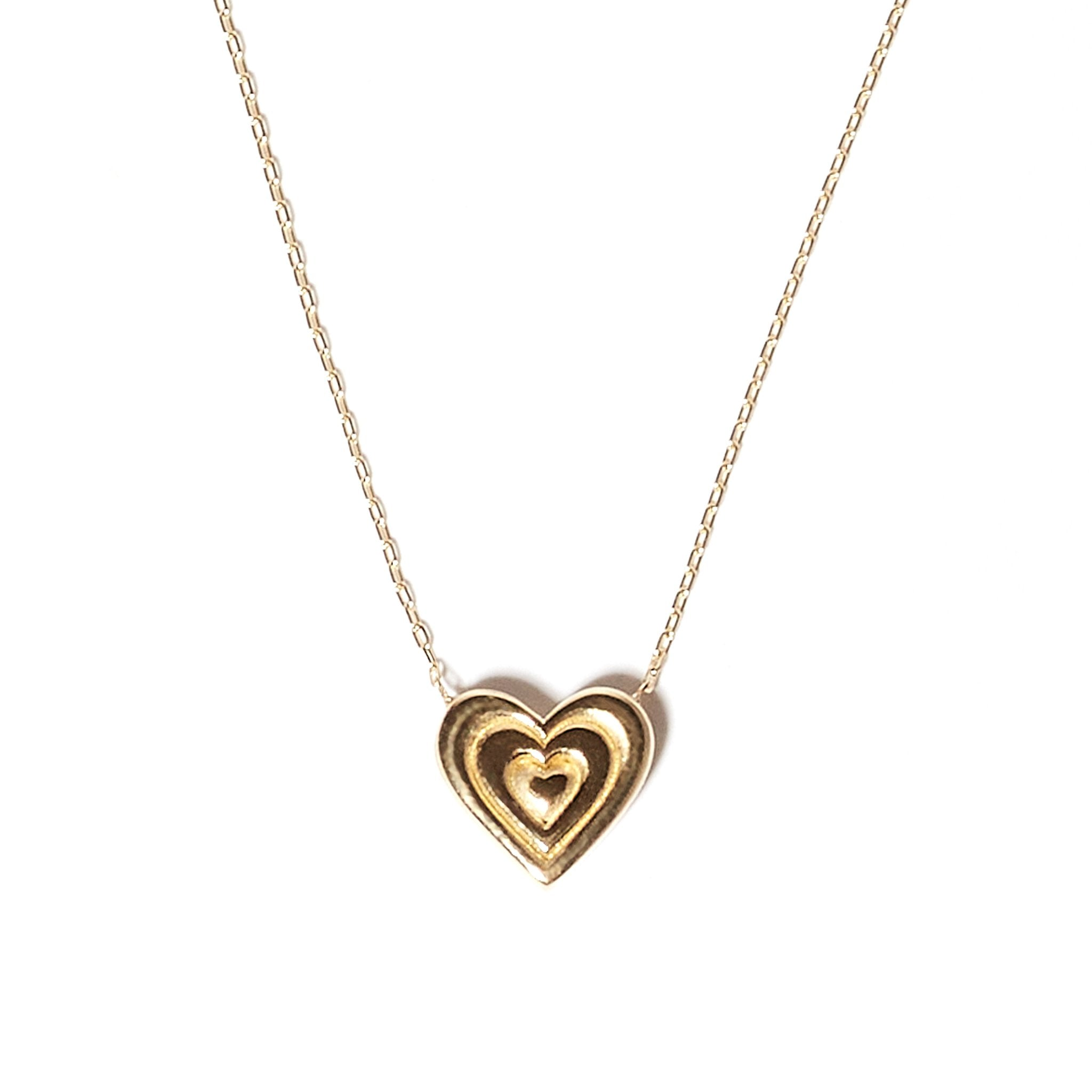 Mini JuJu Heart Charm Necklace