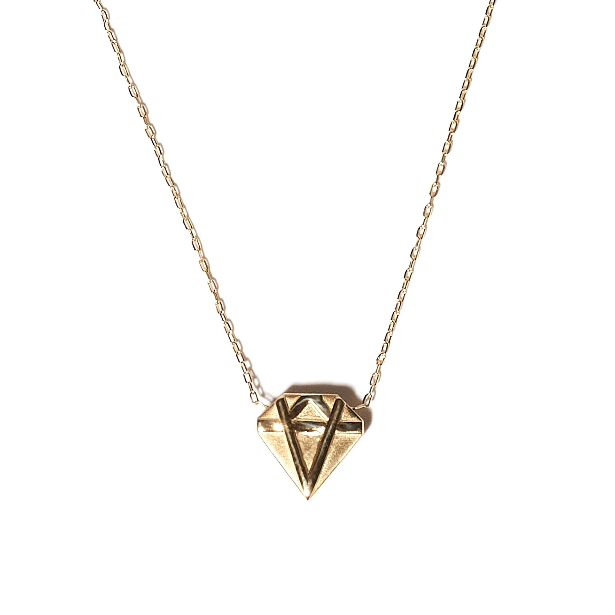 Mini JuJu Diamond Charm Necklace