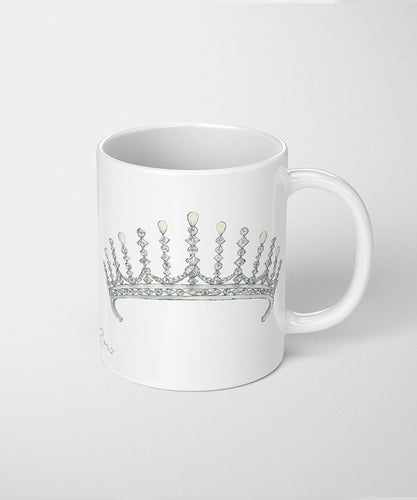 tiara coffee mug