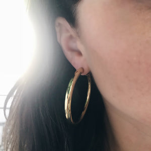 Shashi Large Hoops
