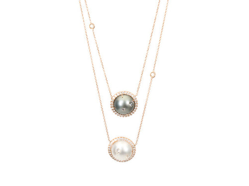 Samira 13 Double South Sea Pearl Necklace