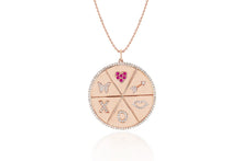 All The Love Coin Medallion Necklace