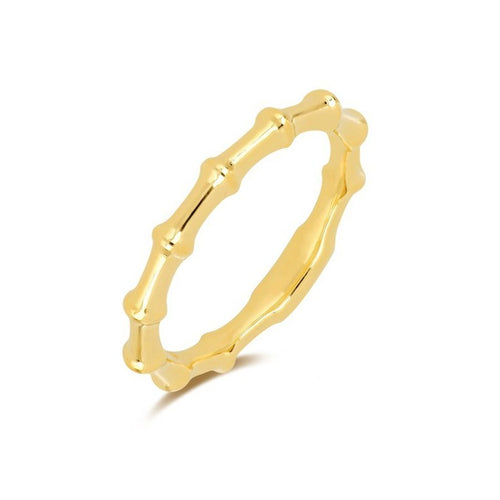 Gold Impala Horn Ring