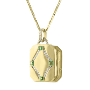 Megan Rectangular Locket