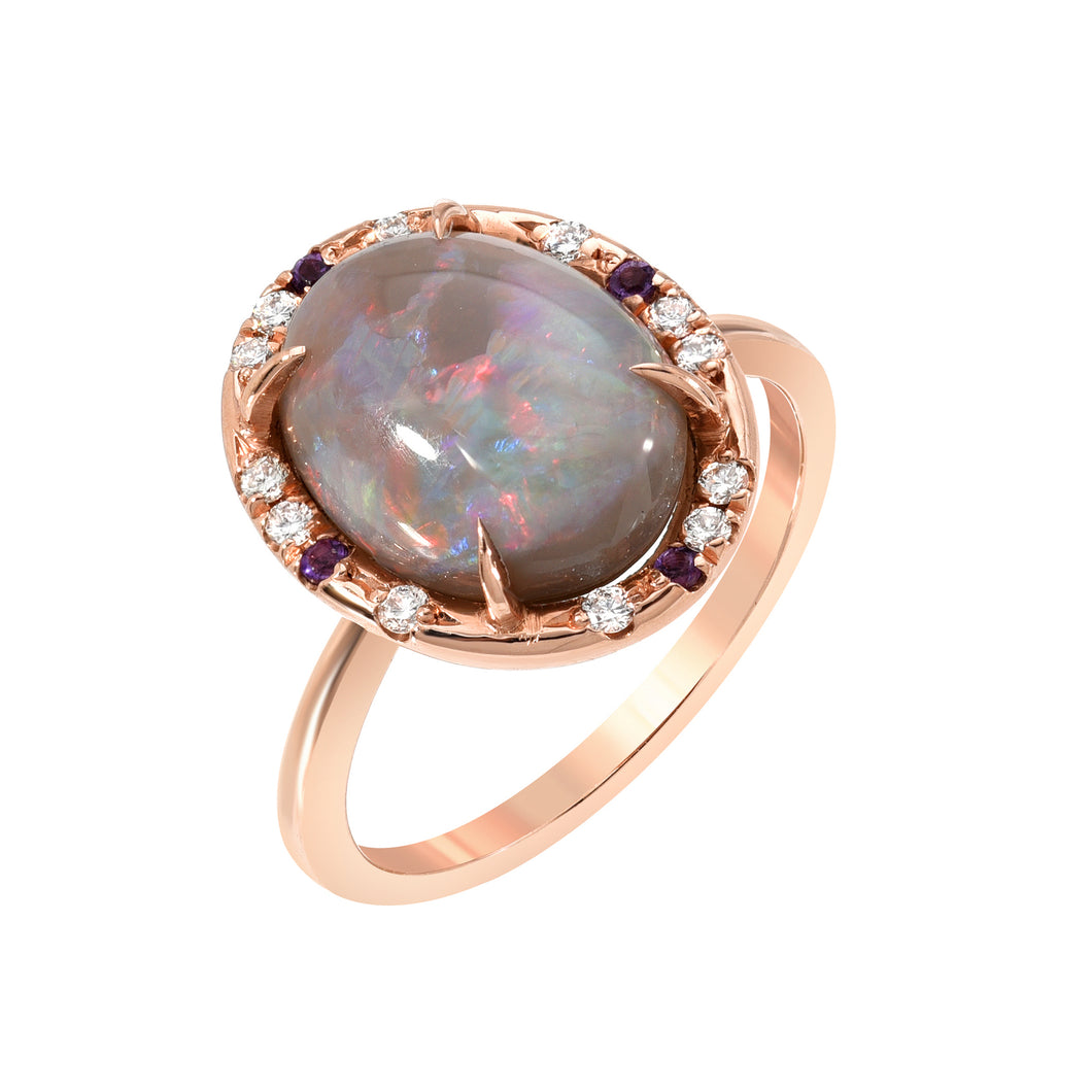 One of a Kind Australian Opal Ring