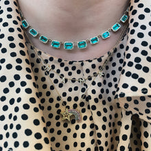 Divine Emerald & Diamond Collar