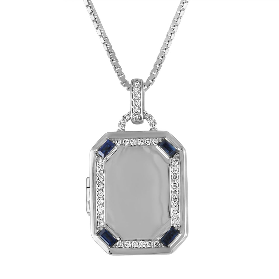 Charlotte Rectangular Locket