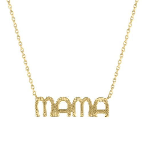 Nova Fluted MAMA Necklace