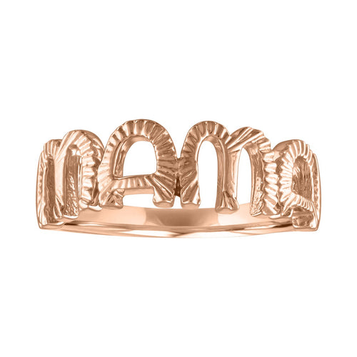 The Veda Mama Fluted Ring