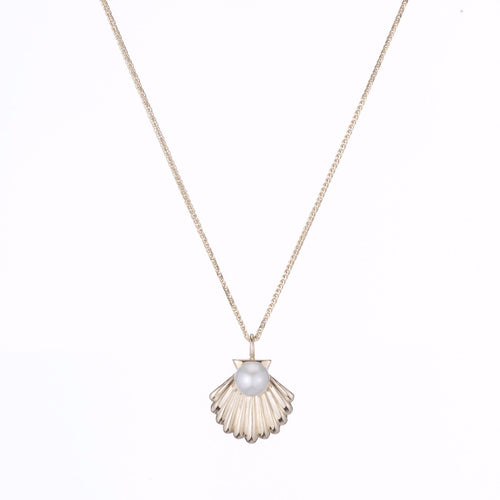 Lido Shell Pearl Pendant Necklace