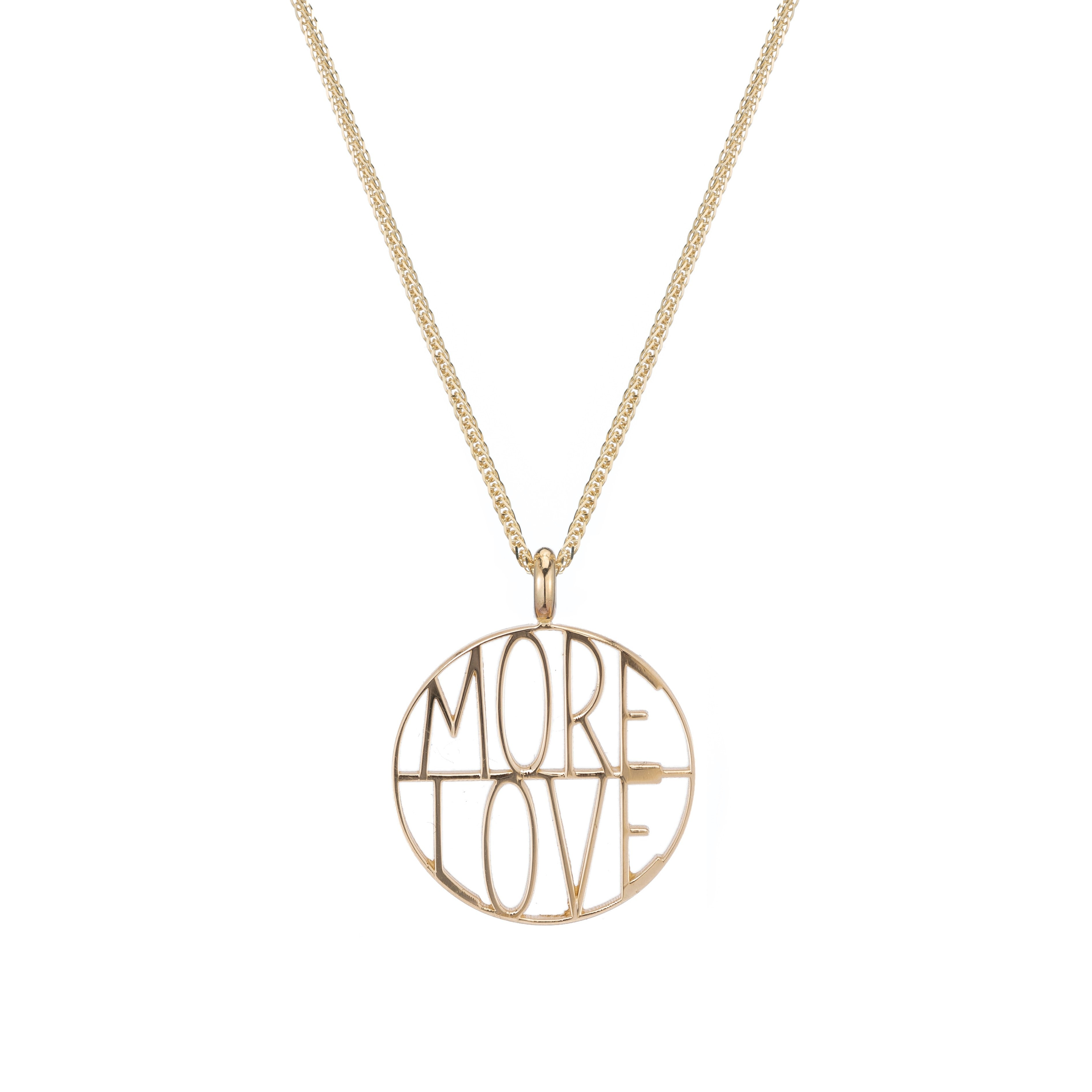 More Love Token Pendant Necklace