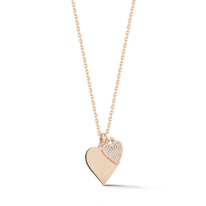 Dora Diamond Heart Charm