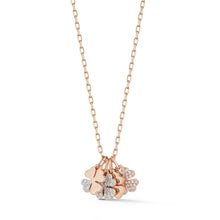 Dora All Diamond Mini Four Leaf Clover Charm