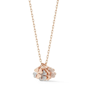 Dora Mini Four Leaf Clover Charm