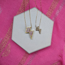 Mini JuJu Lightening Bolt Charm Necklace