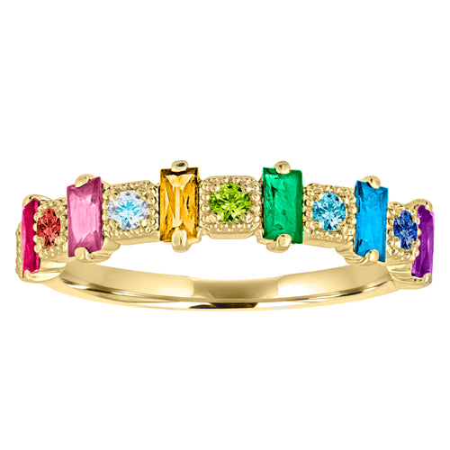 The Adeline Rainbow Ring