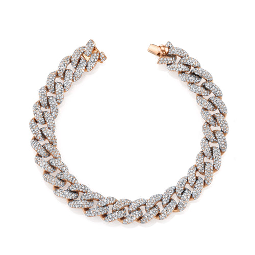 shay essential diamond link bracelet