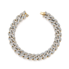 Pave Diamond Essential Link Bracelet