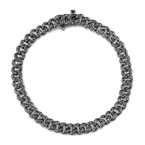 Mini Pave Diamond Link Bracelet