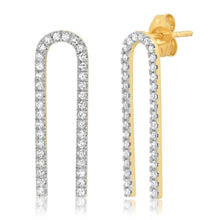 Diamond Magnet Earrings