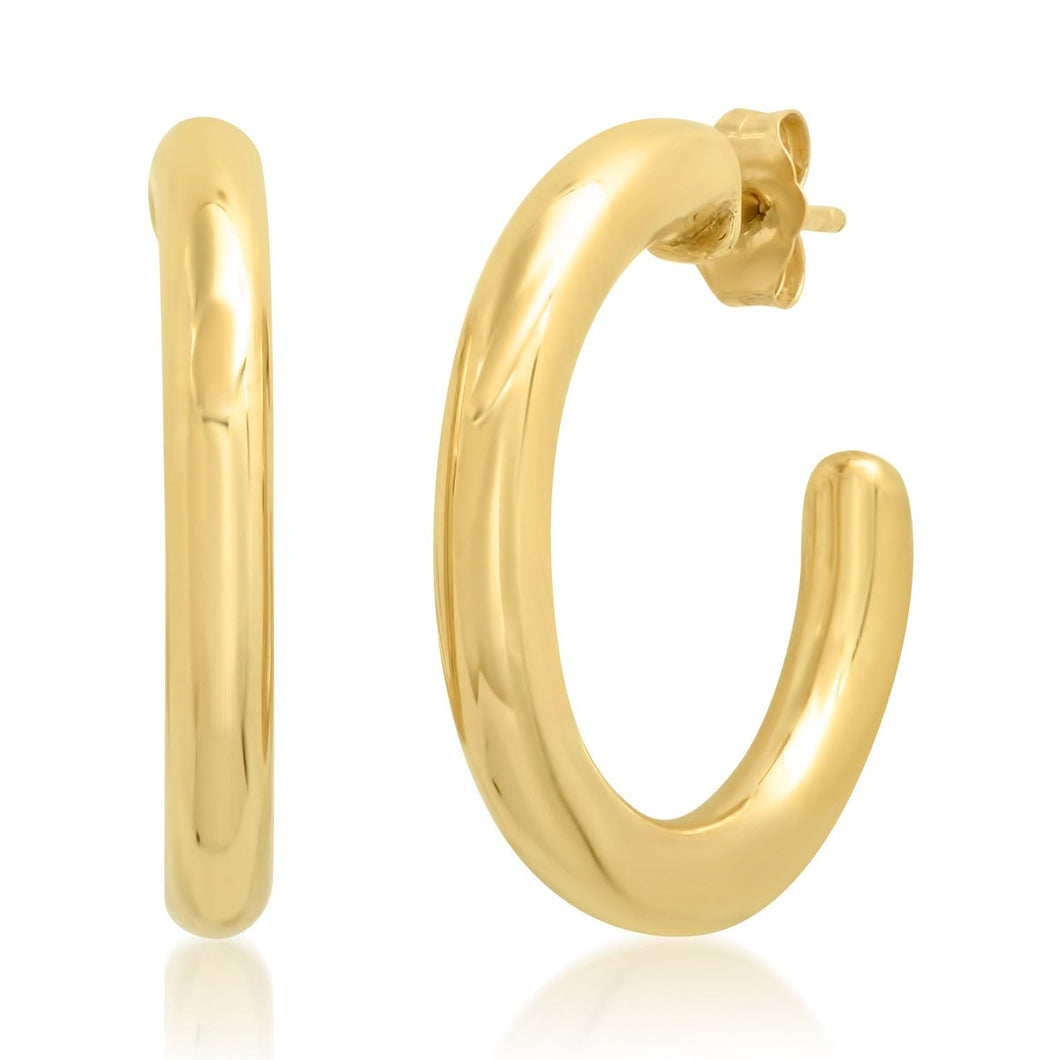 Essential Everyday Gold Hoops