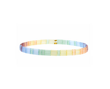 Set of 3 Tilu Summer Stretch Bracelets in Pastel Multi
