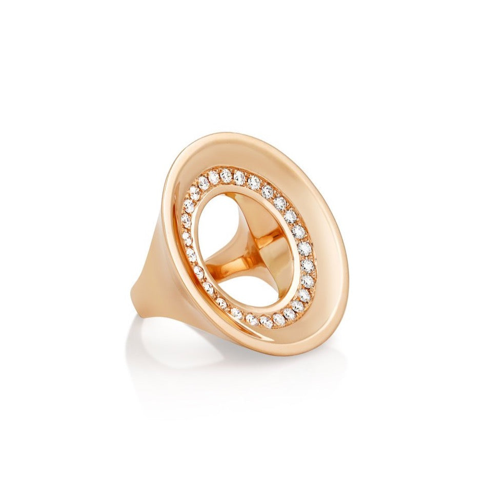 Drew Diamond Saucer Statement Ring