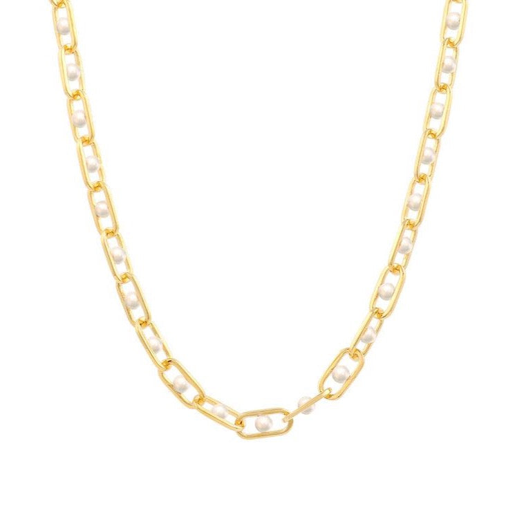 Allegory Major Pearl Chain Necklace