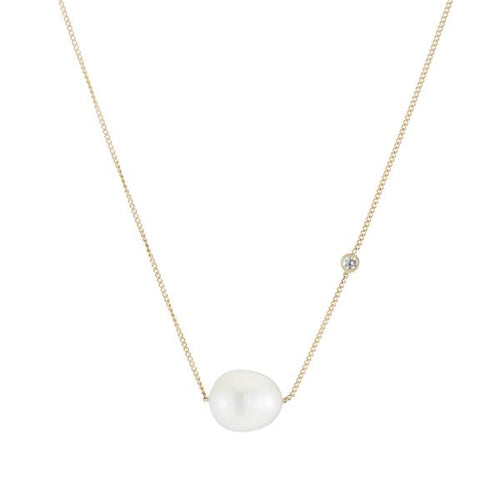 ariel gordon baroque pearl duo necklace