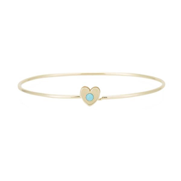 ariel gordon heart catch cuff bracelet