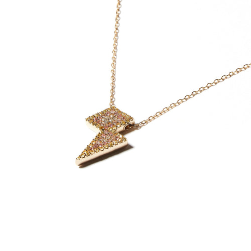 JuJu Lightning Bolt Charm Necklace