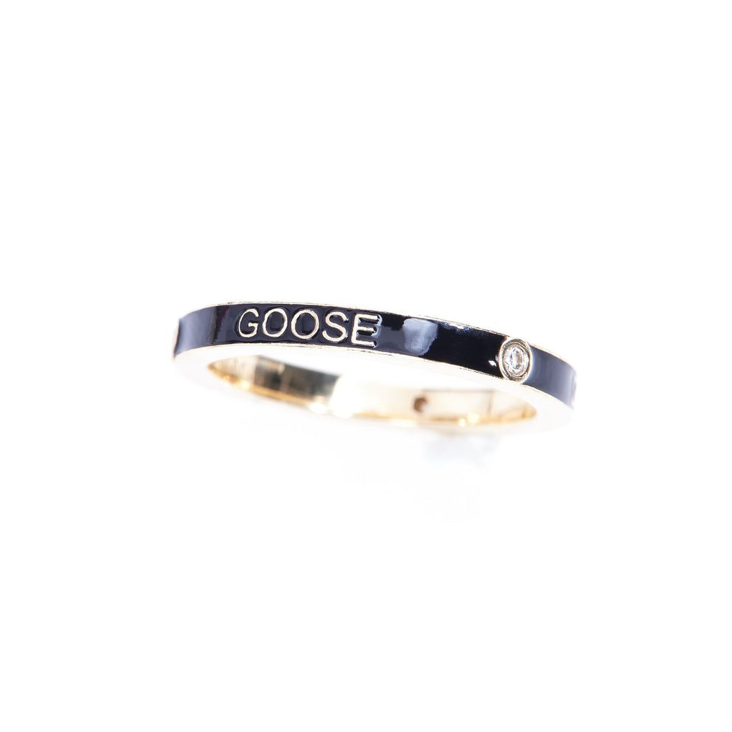 Personalized Enamel Stacking Ring