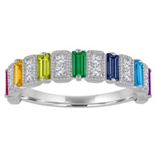 The Amelia Rainbow Ring