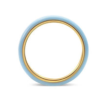 profile heritage jewelry enamel stacking ring