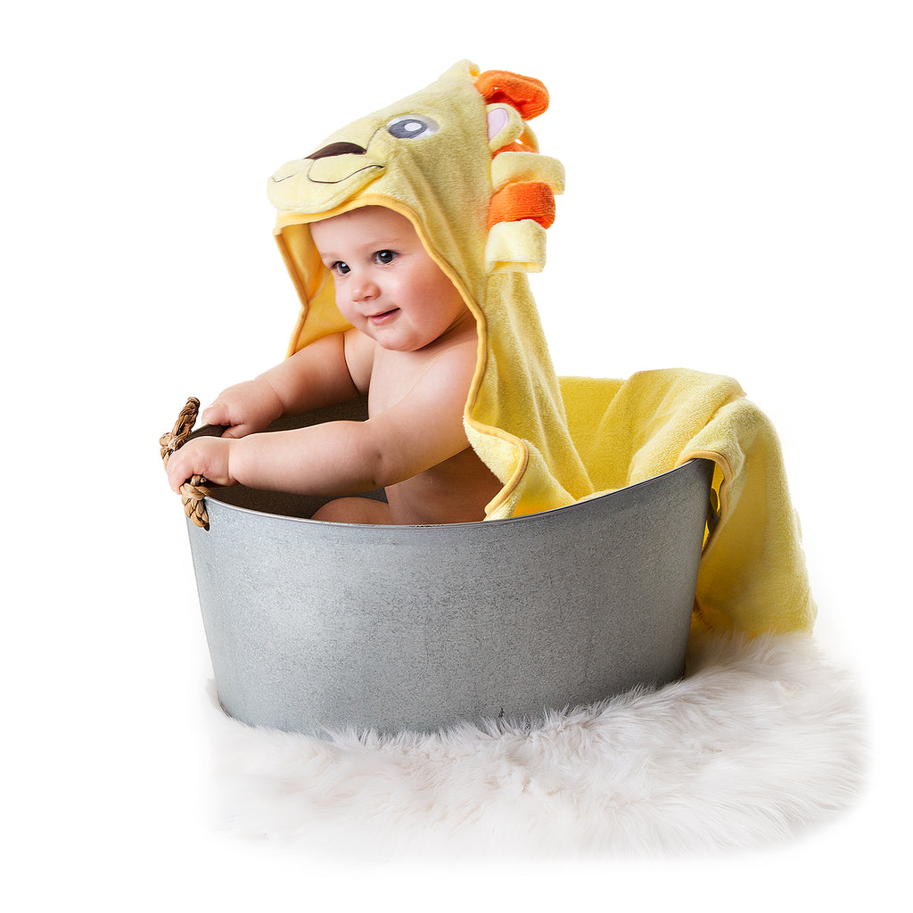 Lion Hooded Baby Towel