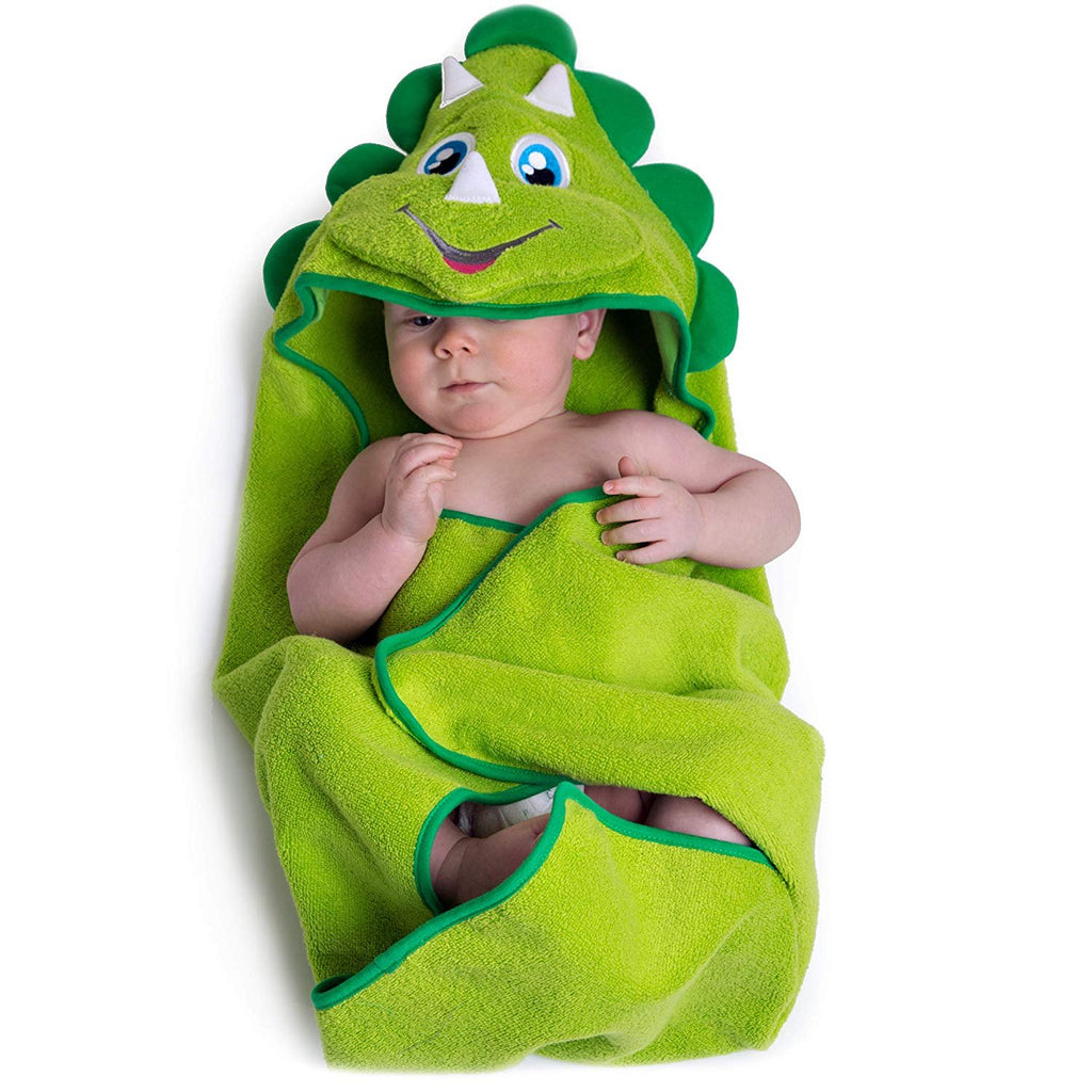Dinosaur Hooded Baby Towel
