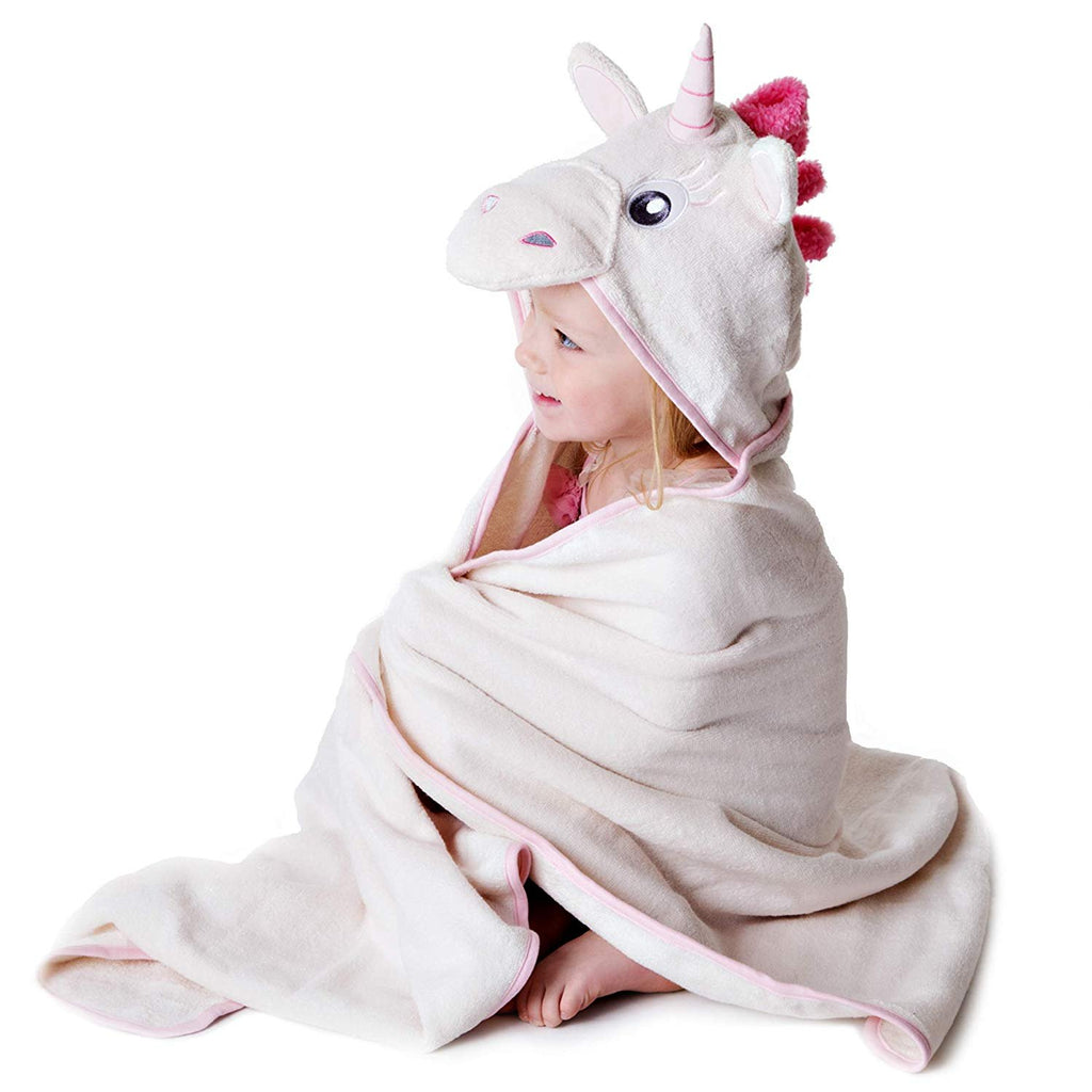 Unicorn Hooded Towel for Kids