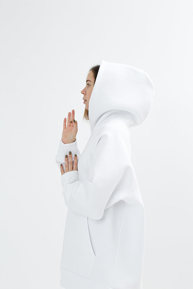 Sadhana Daily Hoodie soft white Sweatshirt Collection