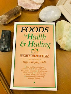 Book Foods for Health and Healing