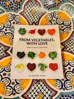 Cookbook From Vegetables, with Love