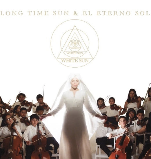 White Sun Long Time Sun CD single english and spanish eterno sol