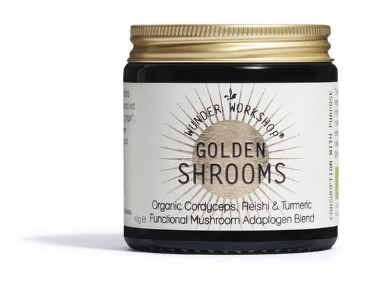 Wunder Workshop Adaptogen GOLDEN SHROOMS - Medicinal Mushroom blend (40g)