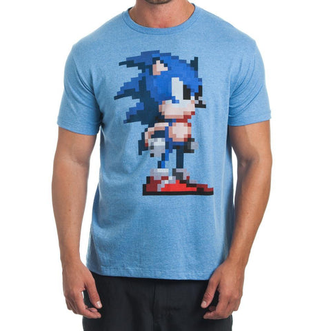 Sega Pixelated Blue T-Shirt