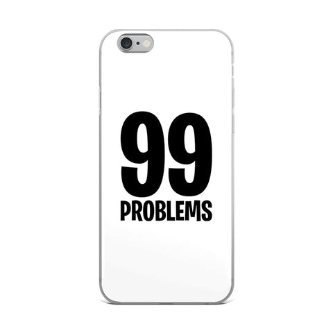 Fortnite - 99 Problems - iPhone Case - White
