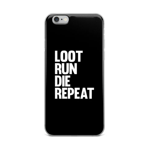 Fortnite - Loot Run Die Repeat - Samsung Case - Black
