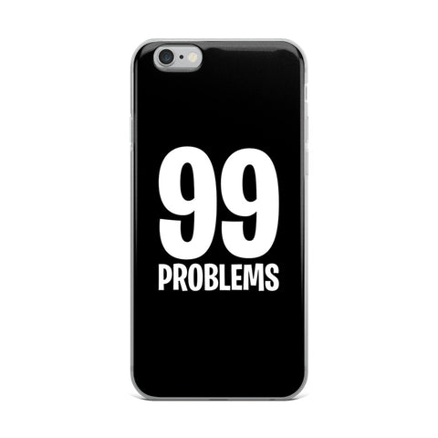 Fortnite - 99 Problems - iPhone Case - Black